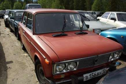 Russian car auction in Finland 86
