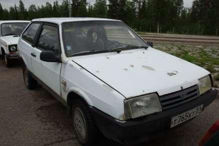 Russian car auction in Finland 90