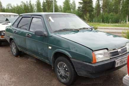 Russian car auction in Finland 92