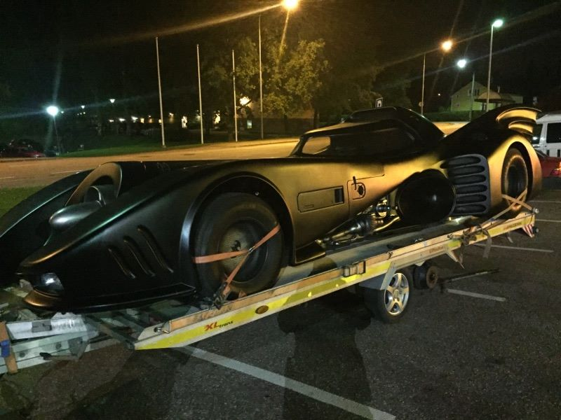 Batmobile in Finland 1