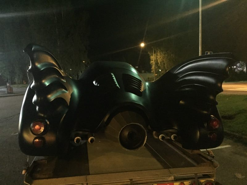 Batmobile in Finland 2