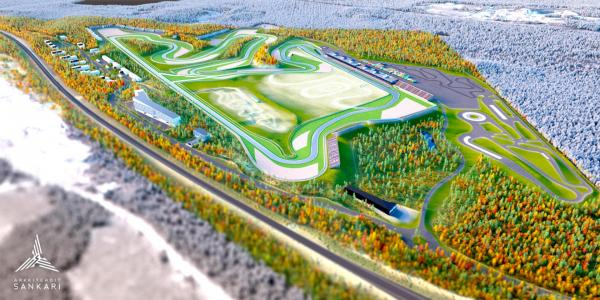 KymiRing Racing Track in Finland